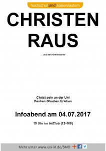 Christen raus ... @ IntClub (Raum 12-168)