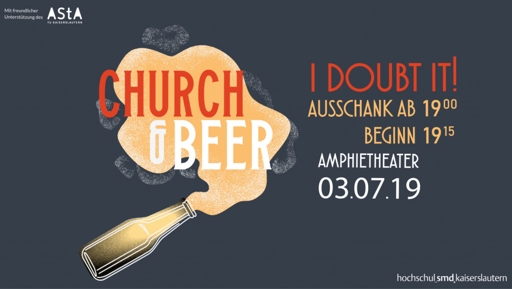 Church & Beer - I doubt it! @ Amphietheather