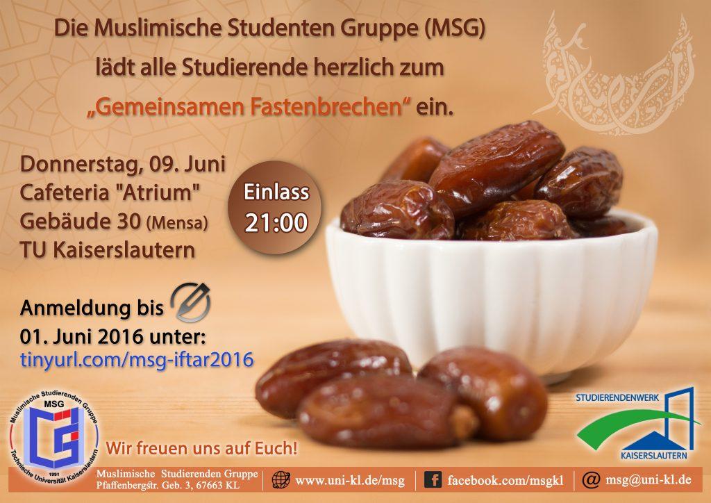 Mensa Iftar 2016