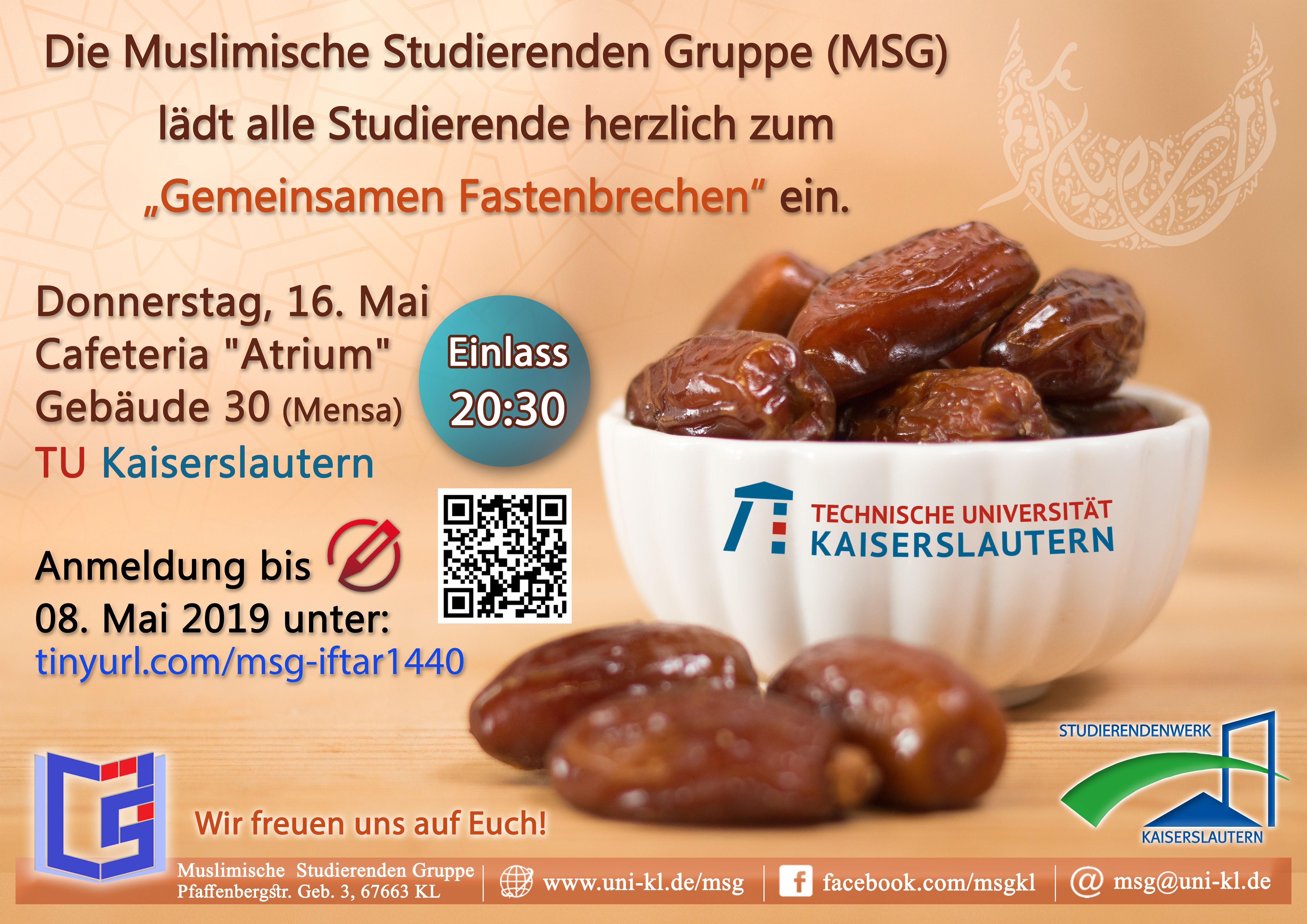 Msg Muslimische Studierenden Gruppe Tu Kaiserslautern