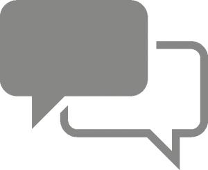 Symbol für Kommunikationskompetenz